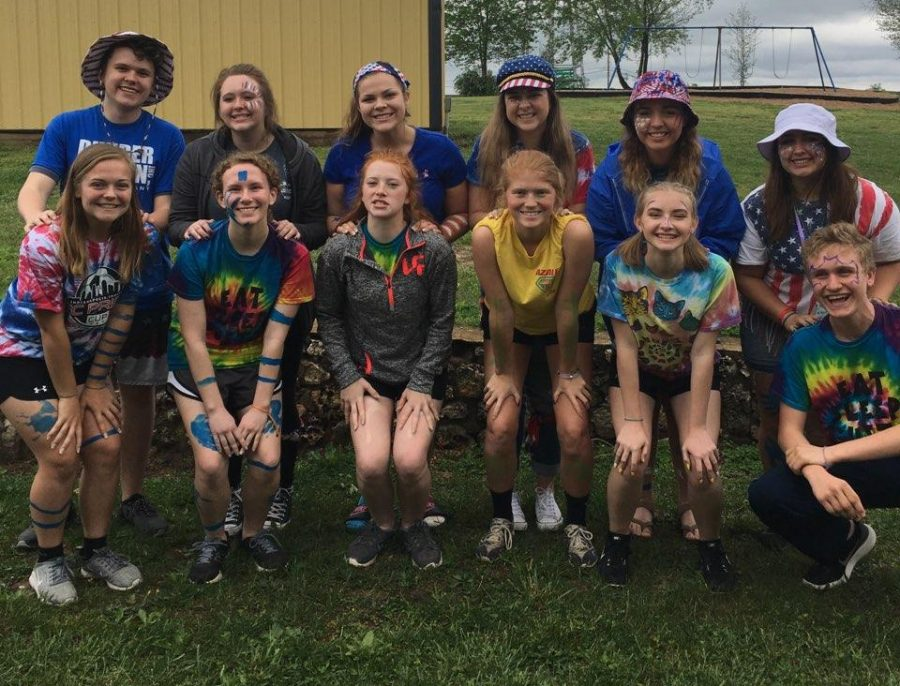 It Was Raining and So Were My Eyes: Student Council Retreat