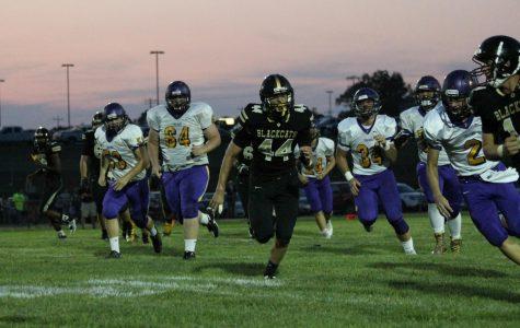 Number 44 (Colton Jordan) Swiftly Running.
