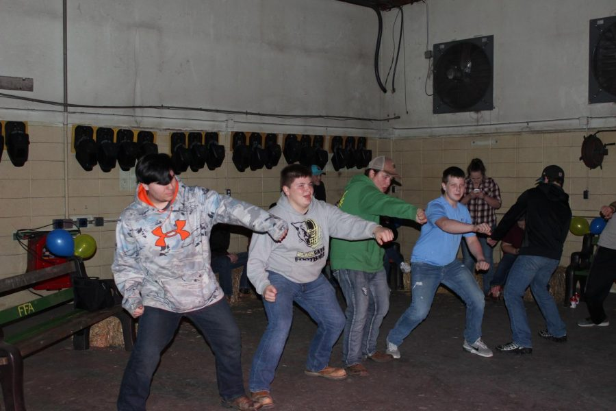 FFA members whipping and nae nae-ing