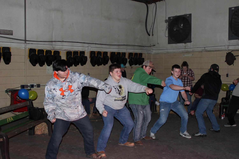 FFA members whipping and nae nae-ing