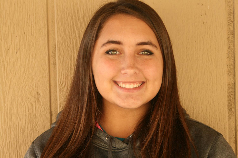Senior Haley Gilmore says goodbye to the softball diamond.