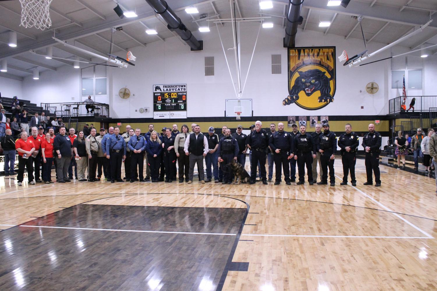 First Responders Recognized by StuCo