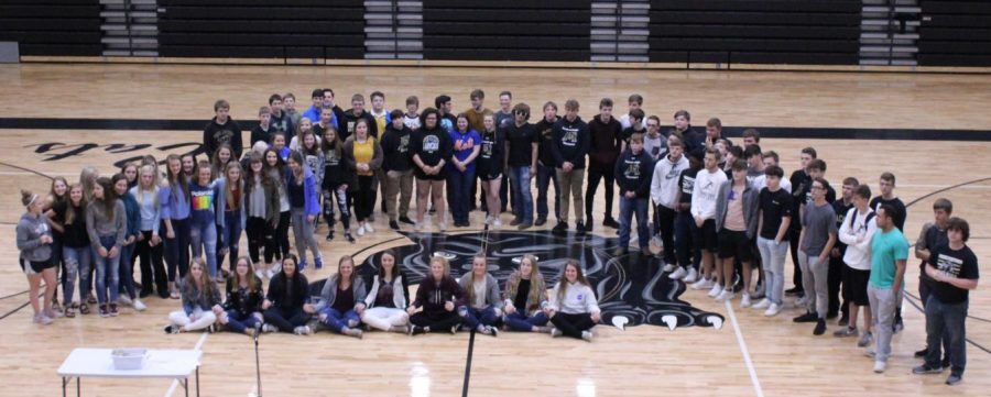 FHS Honors Athletes at Spring Assembly