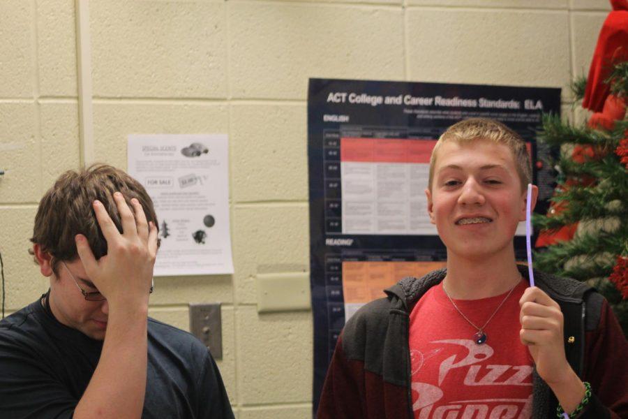Joshua Admire (11) and Krystian Dennison (9)