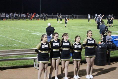 Heidi Welker (10th grade), Hallie Adams (9th grade), Celeste Laut (9th grade), Emma McMillen (9th grade), and Allie Moon (12th grade).
